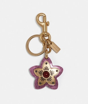 WILDFLOWER BAG CHARM