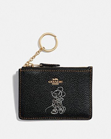 BOXED MINNIE MOUSE MINI SKINNY ID CASE