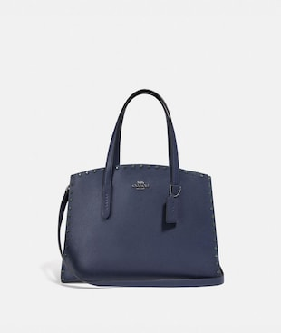 CHARLIE CARRYALL WITH CRYSTAL RIVETS