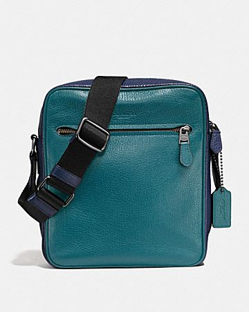 METROPOLITAN FLIGHT BAG IN COLORBLOCK