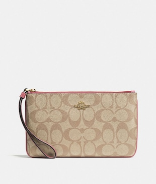 LARGE WRISTLET IN SIGNATURE CANVAS