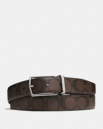 MODERN HARNESS CUT-TO-SIZE REVERSIBLE BELT IN SIGNATURE CANVAS