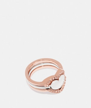 HALO HEART RING
