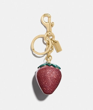 STRAWBERRY BAG CHARM