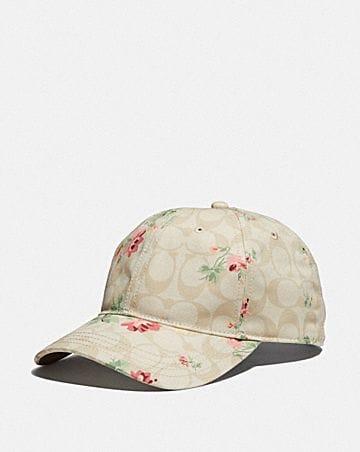 SIGNATURE FLORAL HAT