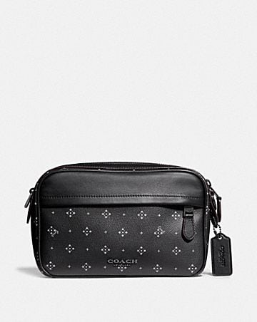 GRAHAM CROSSBODY WITH DIAMOND FOULARD PRINT