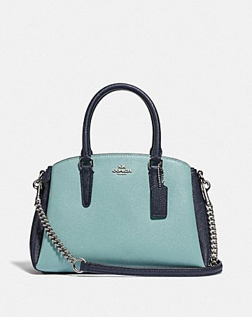 MINI SAGE CARRYALL IN COLORBLOCK