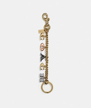 COACH MOTIFS CHAIN BAG CHARM