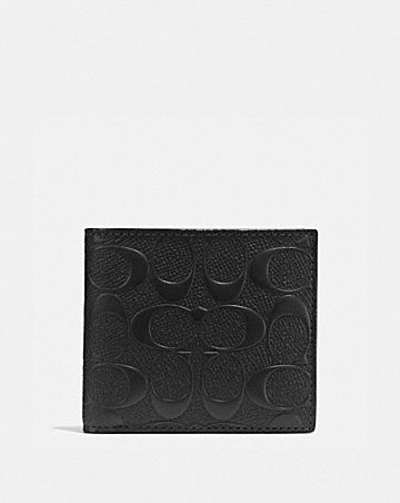 COIN WALLET IN SIGNATURE LEATHER