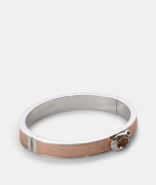 PUSH SIGNATURE HINGED BANGLE