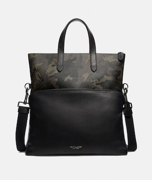 GRAHAM TOTE WITH CAMO PRINT