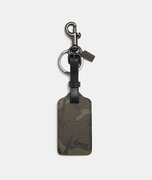 LUGGAGE TAG WITH CAMO PRINT