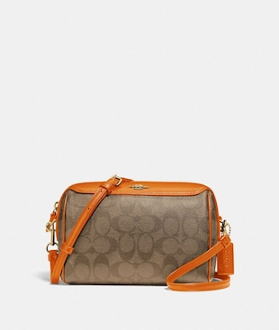 BENNETT CROSSBODY IN SIGNATURE CANVAS