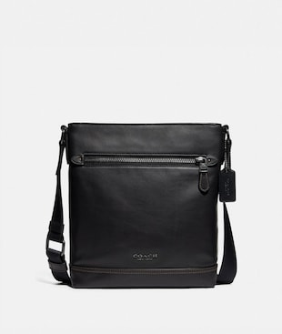 GRAHAM FLAT CROSSBODY