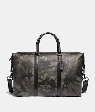 TREKKER BAG WITH CAMO PRINT