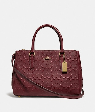 SURREY CARRYALL IN SIGNATURE LEATHER