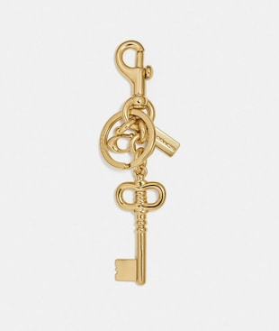 SKELETON KEY BAG CHARM