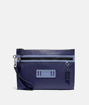 CARRYALL POUCH IN COLORBLOCK