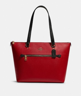 GALLERY TOTE IN COLORBLOCK