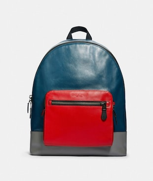 WEST BACKPACK IN COLORBLOCK