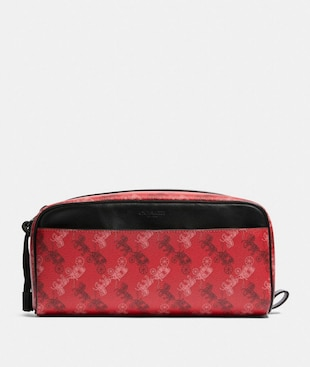 DOPP KIT WITH HORSE AND CARRIAGE PRINT