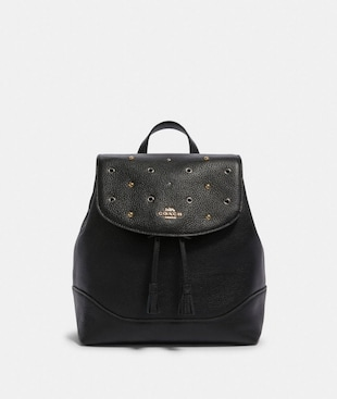 JADE BACKPACK WITH GROMMETS