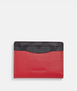 MAGNETIC CARD CASE IN SIGNATURE CANVAS