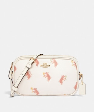CROSSBODY POUCH WITH PARTY PIG PRINT