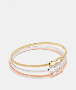SIGNATURE BANGLE SET