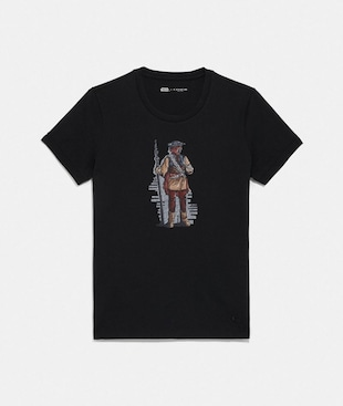 STAR WARS X COACH PRINCESS LEIA AS BOUSHH T-SHIRT