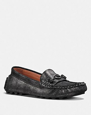 Cheap Sale Authentic Coach Alana Studded Loafers w/ Tags Outlet Store Best Place Cheap Price Safe Payment Huge Surprise Sale Online nnOnh