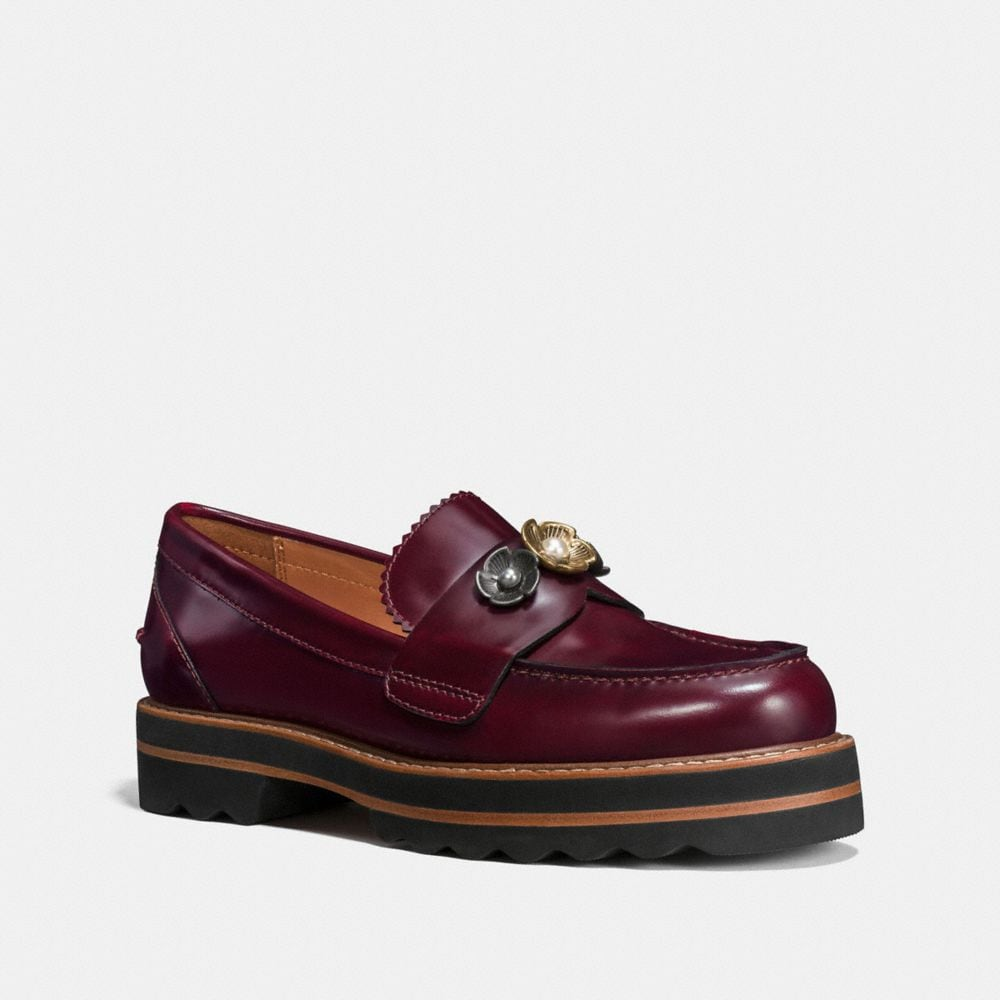 LENOX LOAFER WITH TEA ROSE