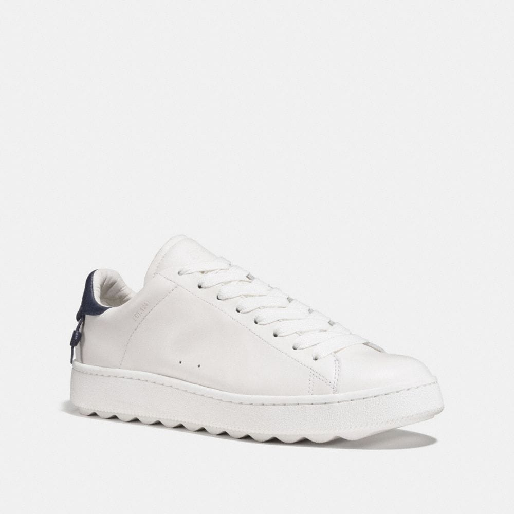 LEATHER LOW TOP SNEAKER