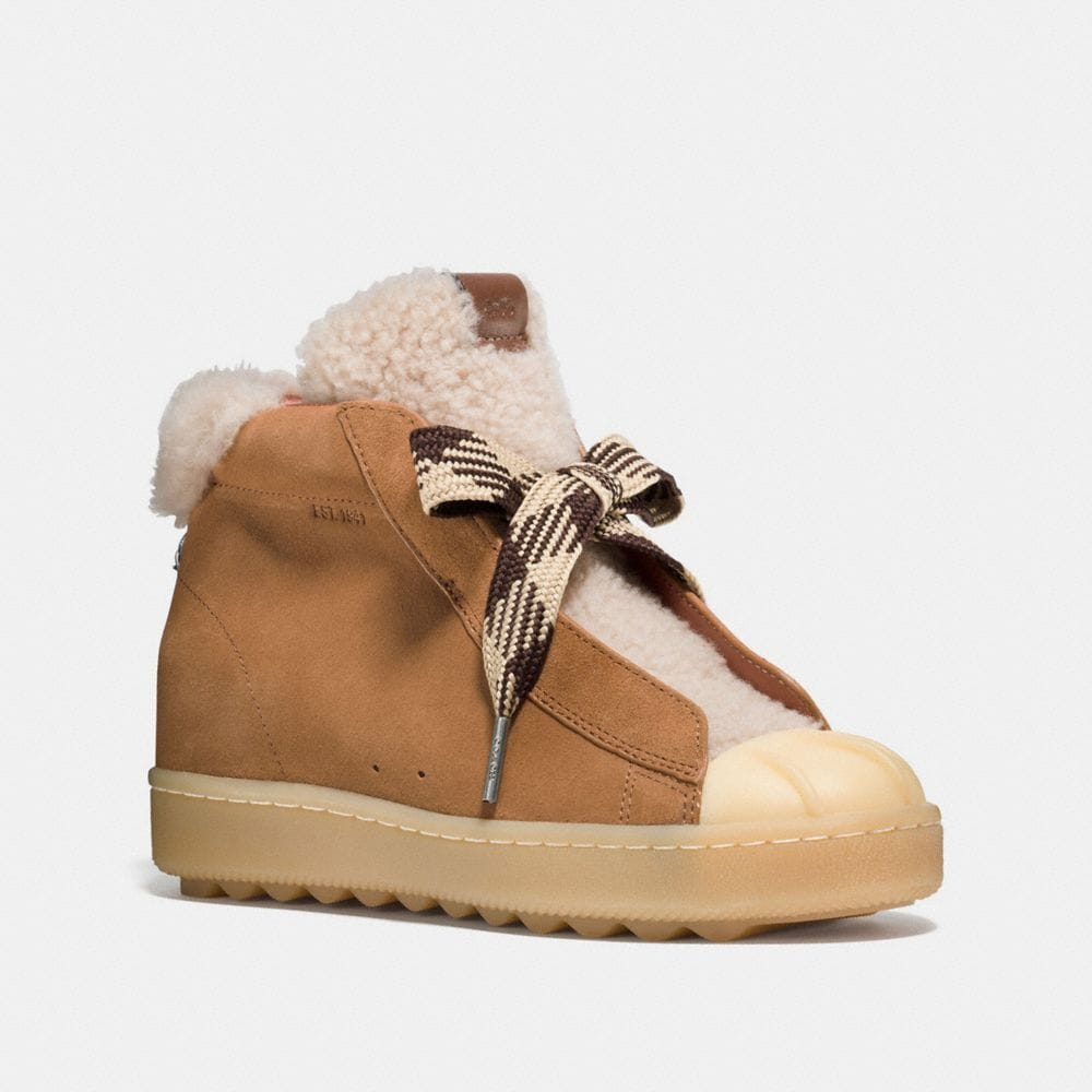 HIGH TOP HIKER WITH SHEARLING