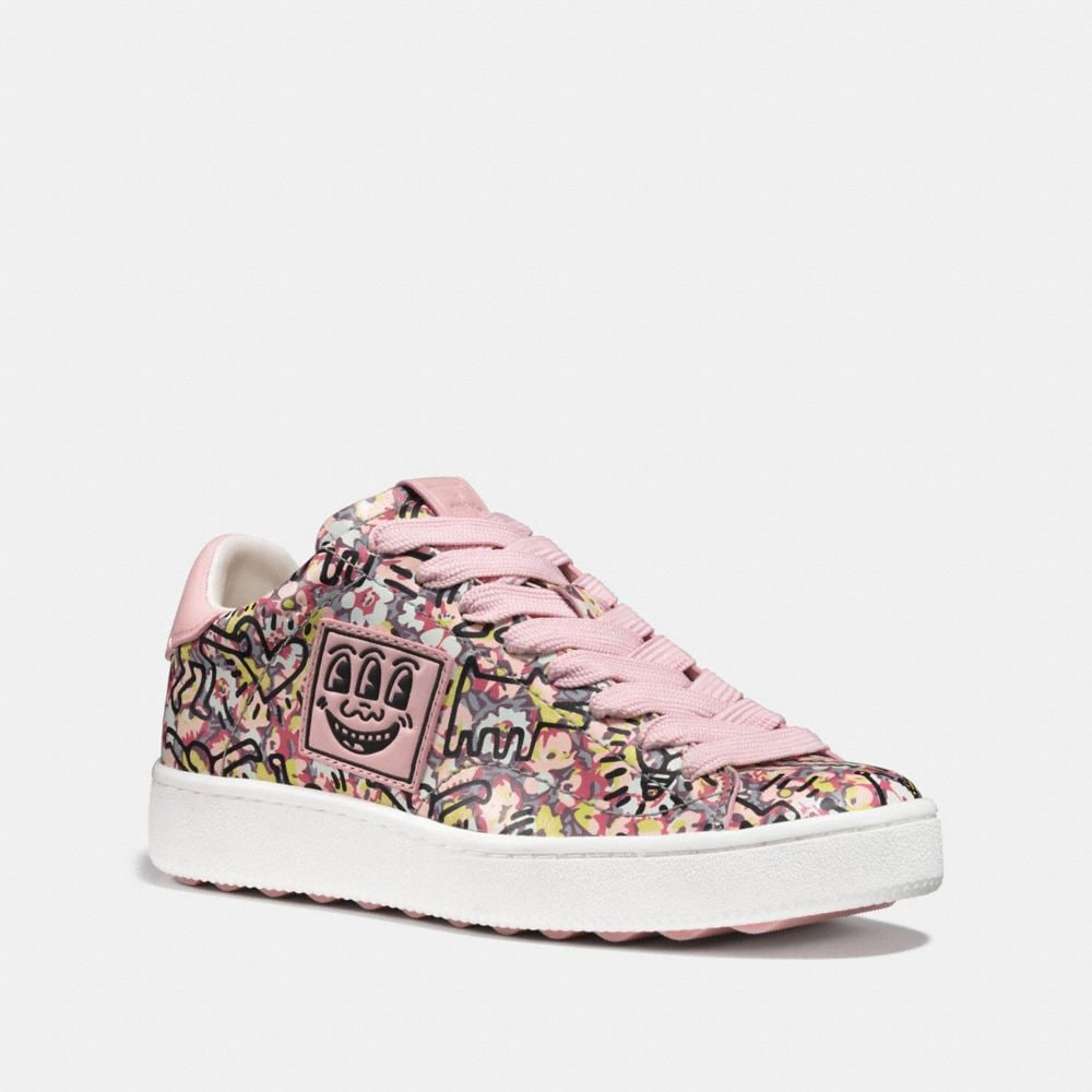 BASKETS BASSES C101 COACH X KEITH HARING