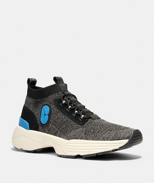 C252 KNIT RUNNER WITH COACH PATCH