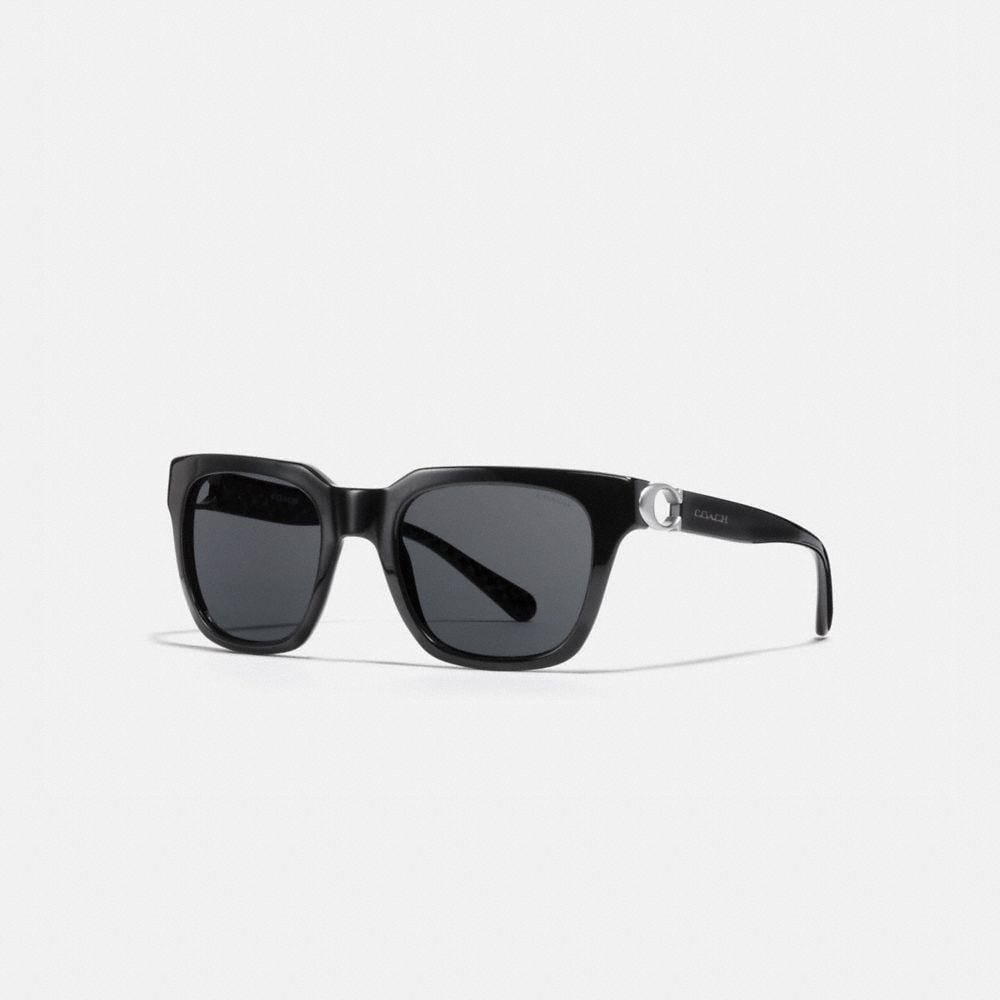 SIGNATURE HARDWARE SQUARE SUNGLASSES