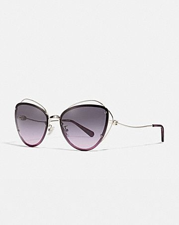 625434a559e OPEN WIRE CAT EYE SUNGLASSES ...