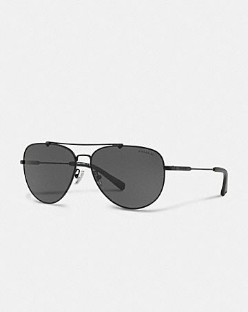 WIRE FRAME PILOT SUNGLASSES