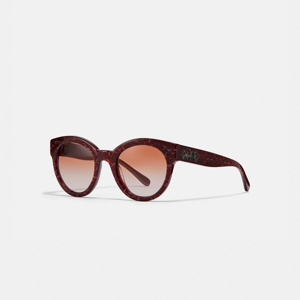 SIGNATURE ROUND SUNGLASSES