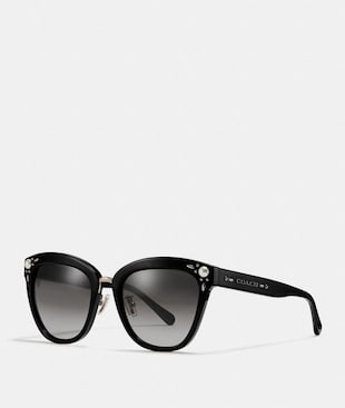 PRAIRIE RIVETS SQUARE SUNGLASSES