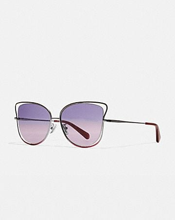WIRE BUTTERFLY FRAME SUNGLASSES