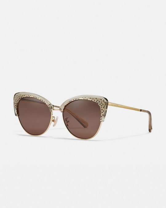 SIGNATURE CAT EYE SUNGLASSES