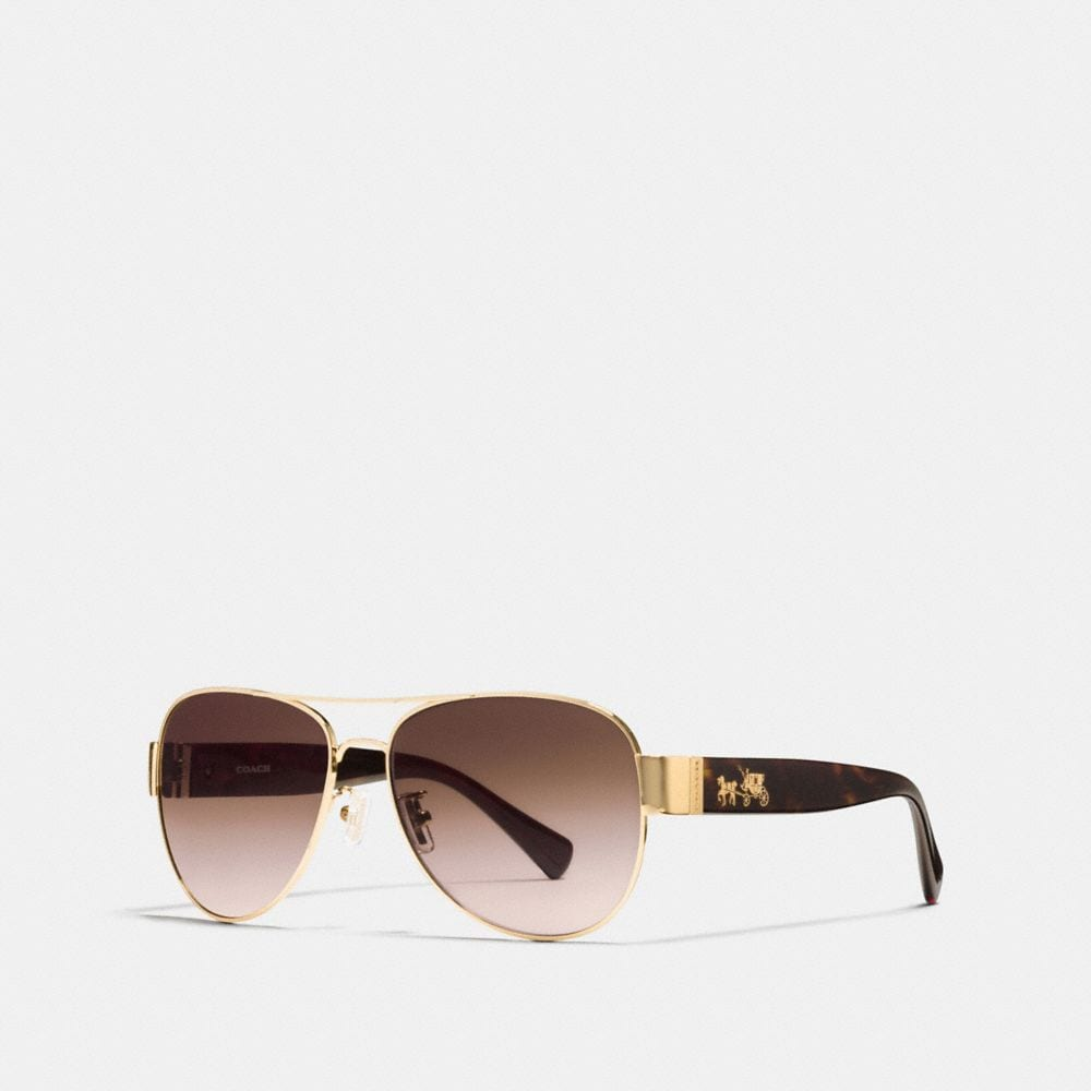 HORSE AND CARRIAGE PILOT SUNGLASSES