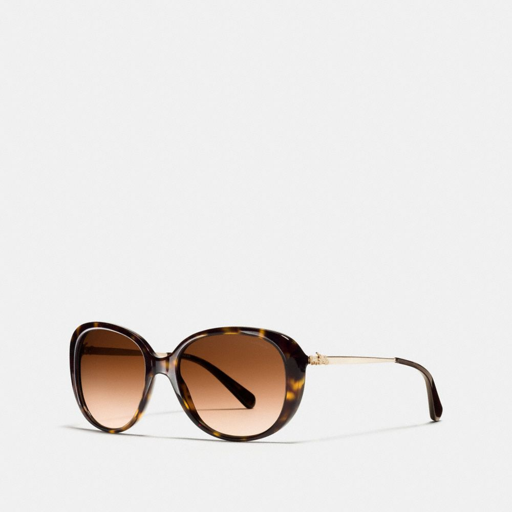 HORSE AND CARRIAGE OVAL SUNGLASSES