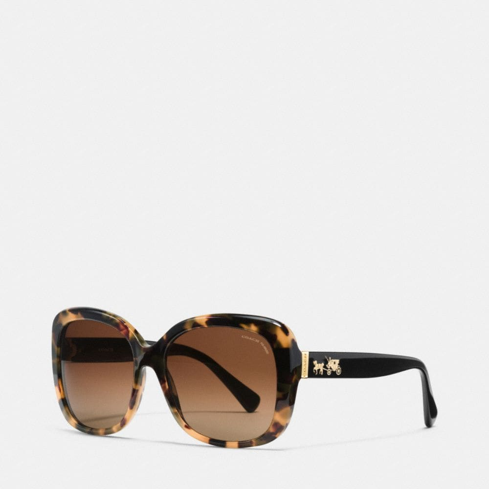 HORSE AND CARRIAGE SQUARE POLARIZED SUNGLASSES