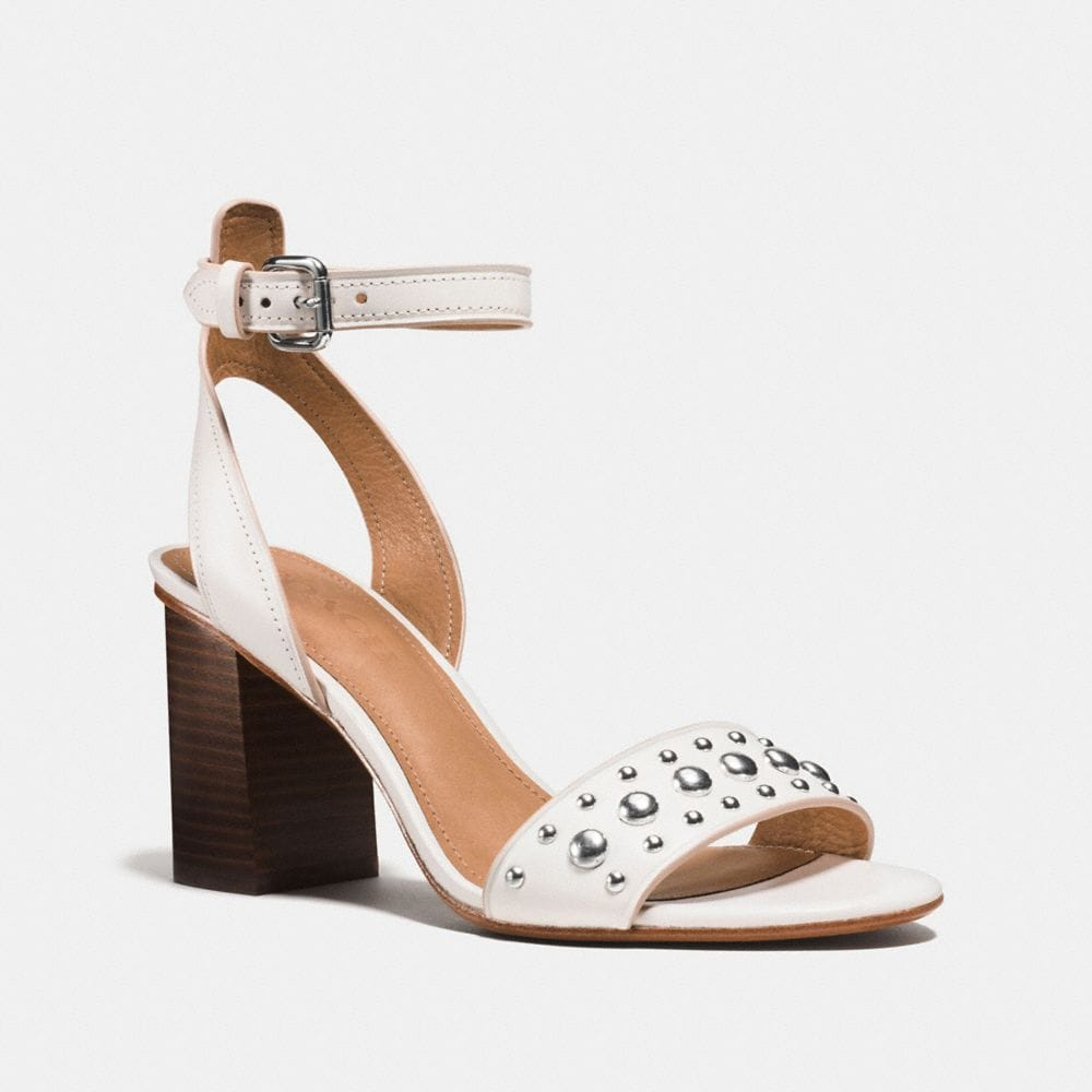 coach flats outlet ehxu  PAIGE STUDDED HEEL