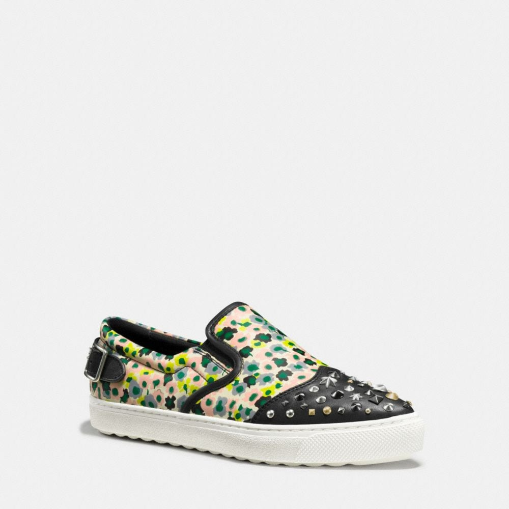 C103 IN FLORAL PRINT WITH STUDS