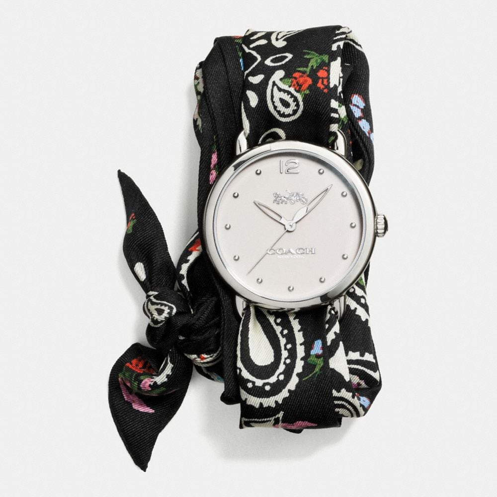 DELANCEY SCARF STRAP WATCH