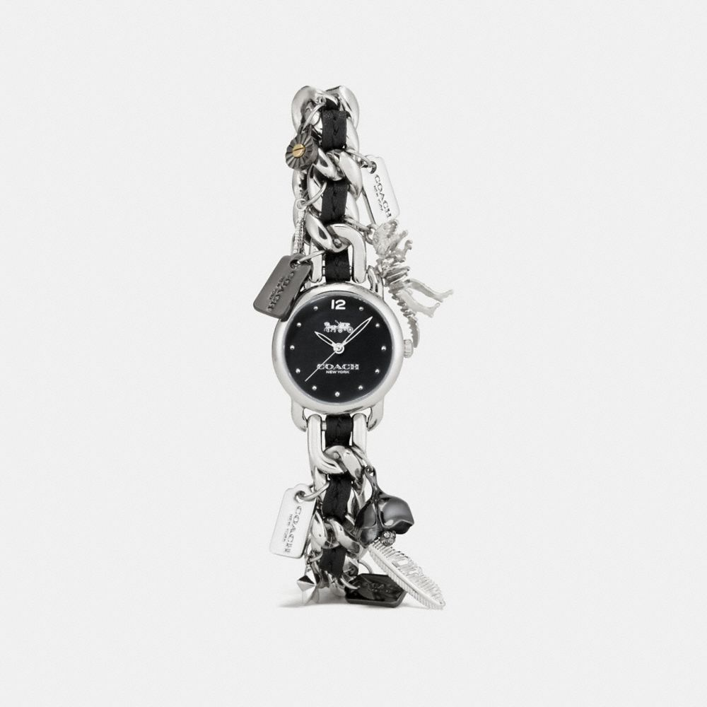 DELANCEY CHARM BRACELET WATCH, 23MM